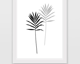 Palm Printable Downloadable Quote Wall Print Gift for Him Her Wall decoration for your Kitchen HouseOffice Modern Art