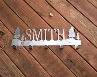 Personalized  Family Coat Hooks (Perfect for an Entry into the Home)
