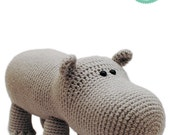 Crochet Pattern - Hippo Amigurumi Pattern Amigurumi Hipopotamus Plush