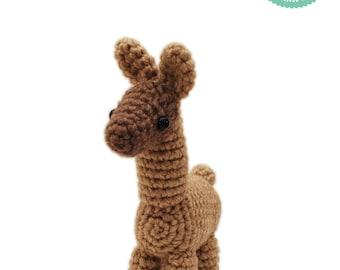 Crochet pattern - Llama Amigurumi pattern, Alpaca plush