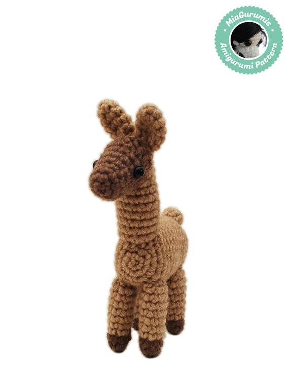 Crochet Llama Amigurumi Pattern : Crochet pattern Llama Amigurumi pattern Alpaca plush
