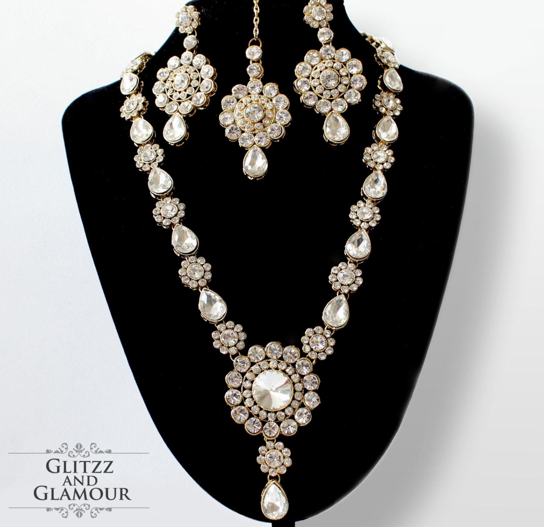 Indian Kundan Gold Chain