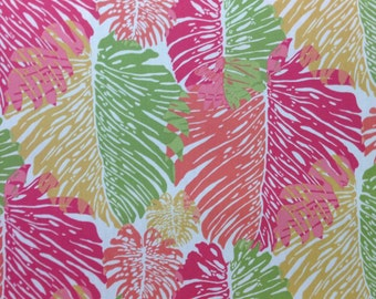 Tropical Palm Watermelon - Outdoor Fabric By The Yard