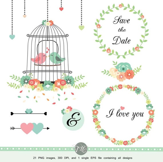 free wedding scrapbook clipart - photo #18