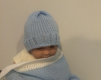 Knitted beanie for baby. color options available.