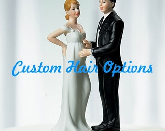 Personalized Wedding Cake Topper Beach Wedding Romantic