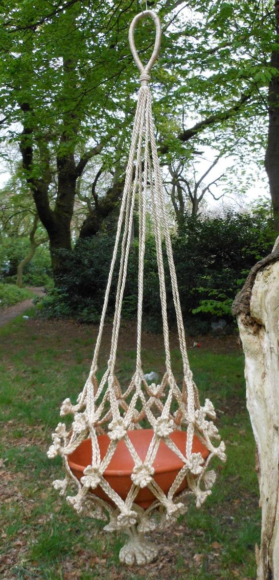 Handcrafted Handmade Braided Natural Jute Hessian Burlap