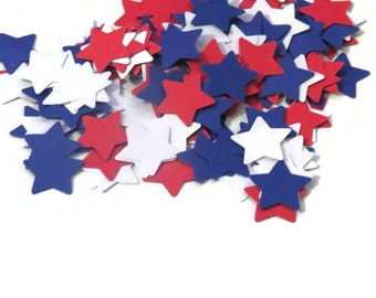 patriotic star confetti, stars, military wedding decorations, Americana, American theme, 100CT, Presidential Election, political party, USA