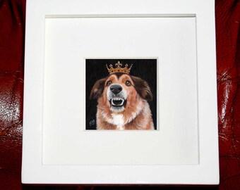 Bespoke Miniature Pet Portrait / Bespoke Miniature Painting