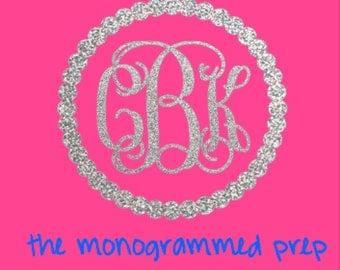 Monogram Sticker Etsy - Monogram car decal maker