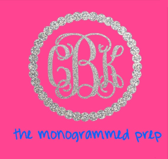 Monogram Sticker Monogram Decal Glitter Monogram Car Decal - Monogram car decal sticker