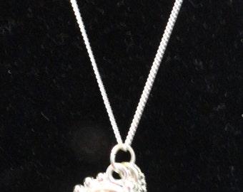 Memories of Paris charm/pendant necklace