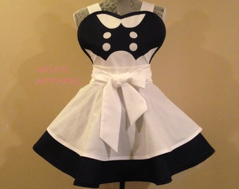Little Sister  - Cosplay apron - Retro Apron