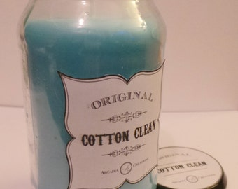 Cotton Clean Scented Candle.