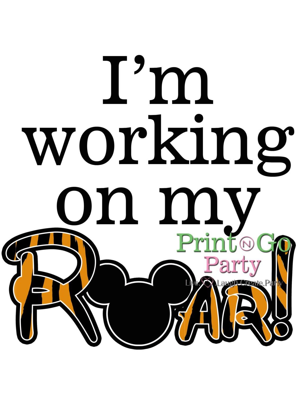 Disney Animal Kingdom Iron On Transfer by PrintAndGoParty ...