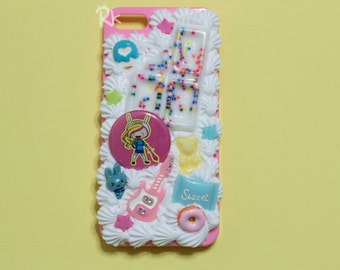 SALE! Fionna, Doughnut, Sprinkles, and More Decoden Iphone 5 Case