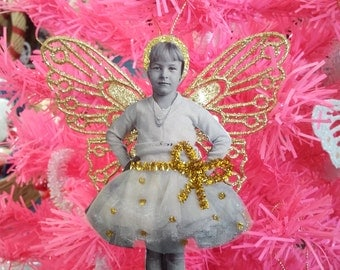 Vintage fairy decoration