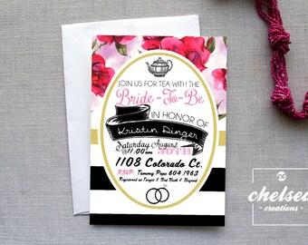 Bridal Tea Invite