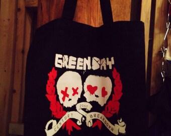 Green Day Bag, Green Day Band Skull Bag
