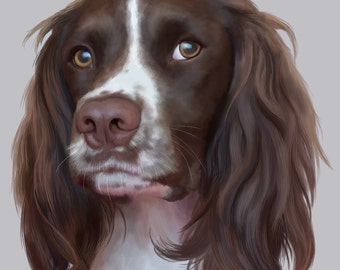 Custom PET PORTRAIT - digital A3 file for printing, wallpapers, etc.