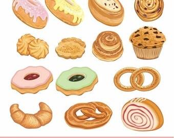 Bread clip art – Etsy