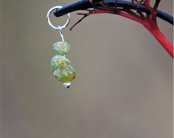 Peridot necklace natural gemstone pendant, peridot jewelry, natural stone necklace, natural healing crystal jewelry, natural peridot pendant