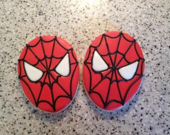 Spider Superhero Cookies