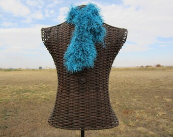 Turquoise Ascot Scarf