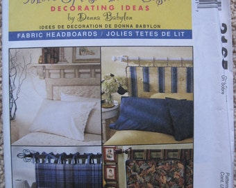 UNCUT Cushioned Headboards - Twin, Double, Queen, King - McCall's More Splash Than Cash Sewing Pattern 2165