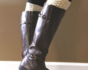 Basic Knitted Boot Cuffs