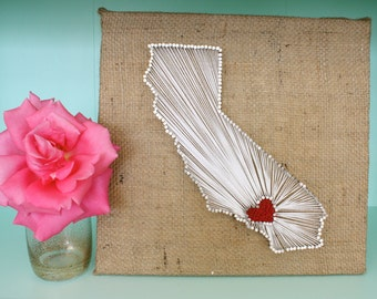 California String Art | Los Angeles | Made to Order |
