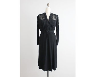 chanel dress / 1930s dress / chanel adaptation label