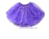 Ready to Ship Purple Sparkle Frilly Tutu Twirl Christmas Skirt | Dress Up Ruffle Skirt Baby Toddler Girl Birthday | Santa Pictures | Elf
