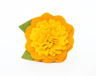 Dog Collar Flower - Golden Blossom