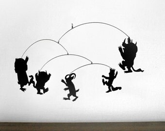 Hanging Mobile   WHERE the WILD THINGS Are inspired