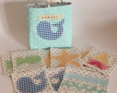 Under the sea fabric memory with storage bag