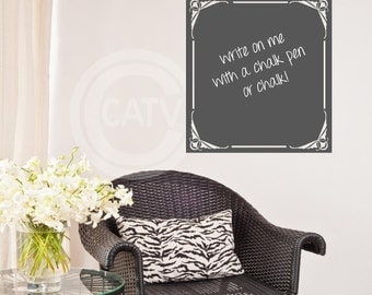Vinyl Chalkboard Scripture of the Week self adhesive wall decal sticker