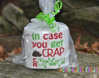 In case you get crap | Etsy