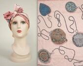 GINNE JOHANSEN scarf • vintage silk scarf • designer square scarf