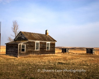 One Room Country School House Central North Dakota