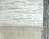 """Abstract Painting-Zen-Minimal Modern-Subtle Colors--Approx.8x8x1""""on Upcycled White Oak Wood -Textur"""