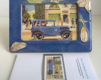 Austin, Cars, Vintage, Illustration, Postcards - Set of 5