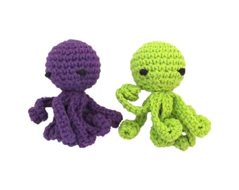 Catnip Octopus with Long Squiggly Arms Cat Toys - Choose Your Colors