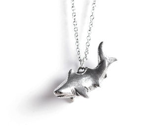 Shark Necklace - Le Unsinkable Shark Totem - Shark Week