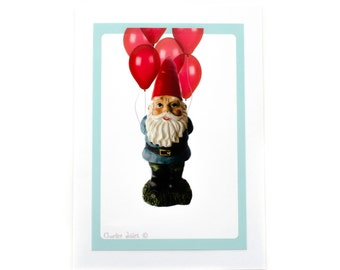 Happy Birthday Gnome Card
