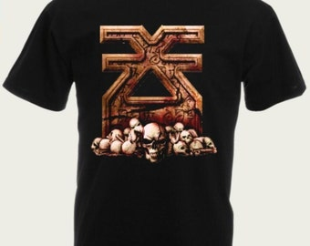 Warhammer  T-Shirt Khorne Symbol, Blood God, Geek T-shirt,  100% cotton, All sizes  & colors, Great gift