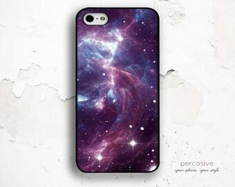 iPhone 6 Case Purple Galaxy - iPhone 5 Case, iPhone SE Case Space, iPhone 6 Plus Case, iPhone 6S Purple Case Space :0288
