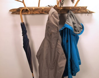 Driftwood coat rack // Hat catcher