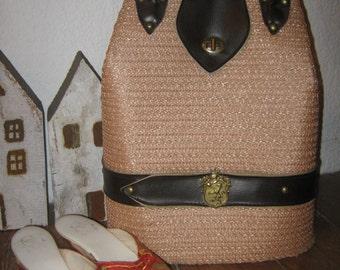 Vintage velvet bag in rose', 50s, retro design
