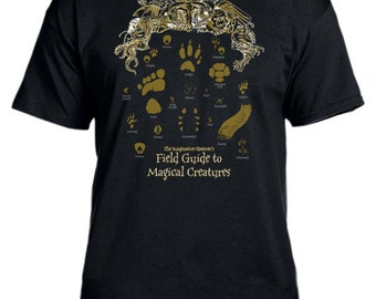 Field Guide to Magical Creatures Harry Potter t-shirt